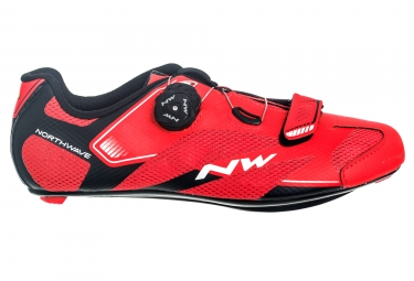 chaussures route northwave sonic 2 plus rouge 41