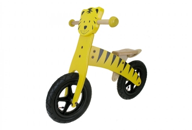 Tiger Wood Balance Bike 12 '' Giallo