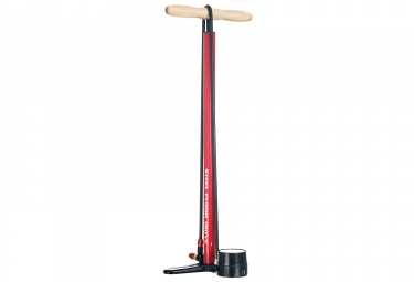 **Refurbished Product** Lezyne Steel Floor Drive Floor Pump ABS-1 Pro Red