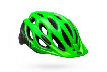 casque bell traverse vert fluo 54 61 cm