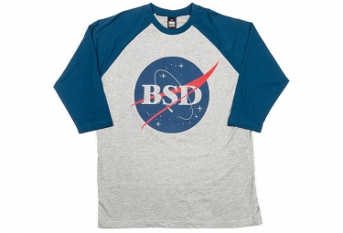 Maglietta grigia dello Space Agency di BSD