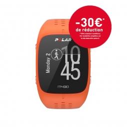 montre gps polar m430 orange m l
