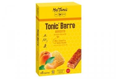 MELTONIC 5 Barres énergétiques TONIC Miel Abricot Ananas Banane