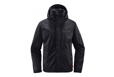 Veste impermeable vaude escape light noir l