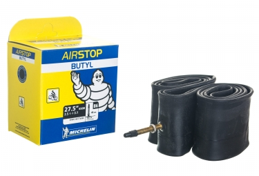 Chambre a air michelin b6 airstop 27 5x2 35 3 00 presta 40mm