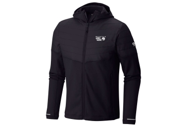 Sweat a capuche mountain hardwear 32 insulated noir xl