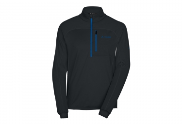 Vaude Boe Halfzip Fleece Black Blue