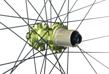 SPANK Wheelset OOZY TRAIL 295 27.5'' 15x100mm/12x142mm Shimano/Sram Black/Green