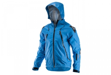 Veste impermeable leatt dbx 5 0 all mountain bleu s
