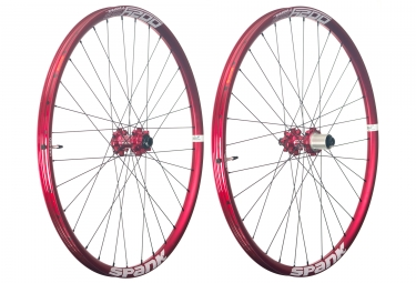 paire de roues spank oozy trail 295 27 5 axe 15x100 12x142mm shimano sram rouge