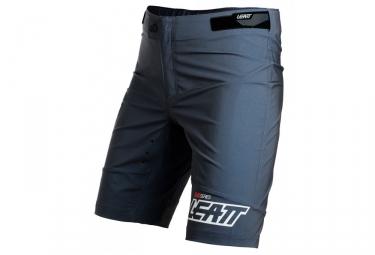 short avec peau leatt dbx 1 0 gris m