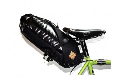 Restrap Carry Saddle Bag & Dry Saddle Bag Black