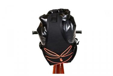 Sacoche de Selle Restrap Carry Saddle Bag & Dry Noir Orange
