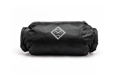 sac restrap double roll dry bag noir