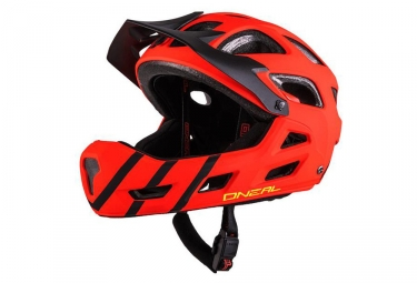 Casque Intégral Enfant Oneal Thunderball Pro Rouge Noir