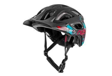 Casque oneal thunderball attack noir rouge bleu 54 60 cm