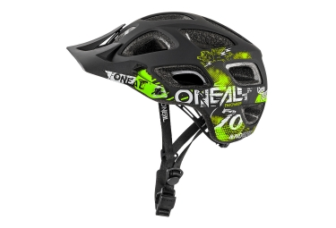 Casque Oneal Thunderball Attack Noir Jaune Fluo