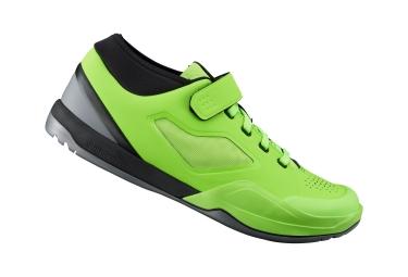 paire de chaussures vtt shimano am701sr vert 42