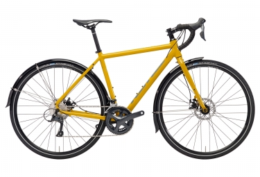 gravel bike kona rove dl yellow 2018 54 cm 168 180 cm - Kona