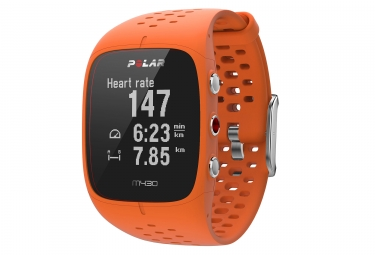 Montre gps polar m430 orange m l