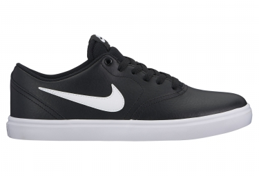 Chaussures nike sb check solarsoft noir blanc 42