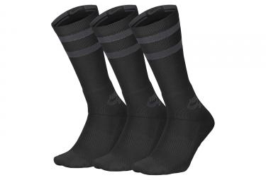 x3 Paires de Chaussettes Nike SB Dry Noir