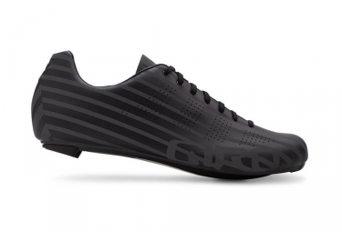 Chaussures Route Giro Empire ACC Noir / Bandes Reflechissantes