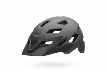 Casque enfant bell sidetrack youth gris 50 57 cm
