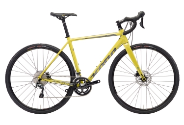 gravel bike kona jake the snake jaune 2018 52 cm 168 178 cm
