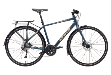 City Bike Kona Dew Deluxe Blu 2018