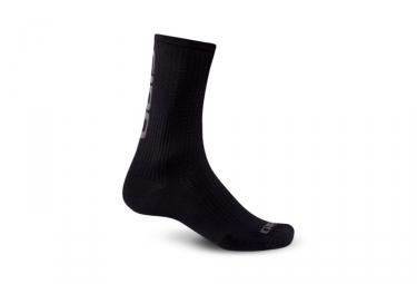 Paire de chaussettes giro hrc team noir gris 36 39