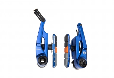 etrier v brake box eclipse 85mm bleu