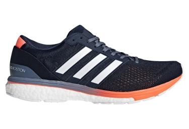 adidas running adizero boston 6 bleu blanc orange 42