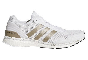 competitive price 8e155 fb3eb Chaussures de Running adidas running Adizero Adios Blanc  Or