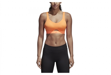 adidas running Stronger For It Bra Orange