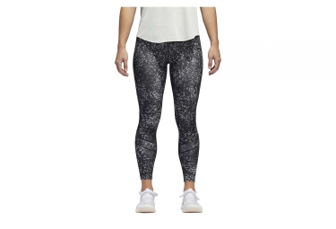 Collant long adidas running how we do gris xs