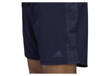 Short adidas running Supernova Bleu