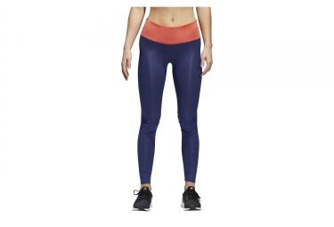 adidas running women's Long Tight Supernova TKO Blue Orange
