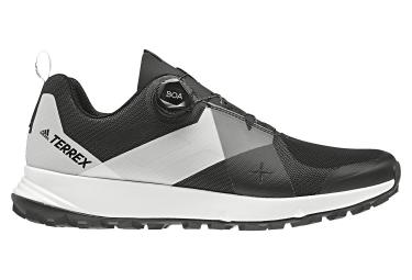 adidas läuft Terrex BOA Schwarz Weiß