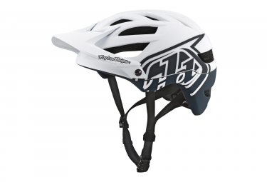 Casque troy lee designs a1 drone blanc gris 2018 xs s 54 56 cm