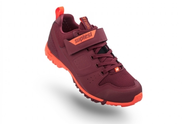 Chaussures VTT Randonnée / All Mountain Suplest Offroad Sport Rouge / Orange