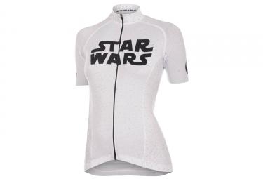 Maillot Femme Bioracer Star Wars Logo - Blanc
