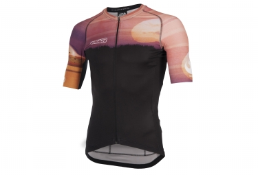 Maillot bioracer star wars planet tatooine orange l