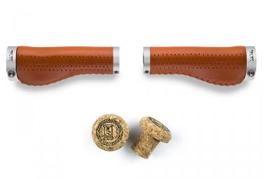 grips ergonomiques selle italia epica ergo marron