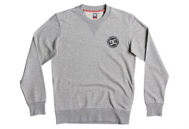 DC Shoes Core Crew Fleece Sweat Heather Grey