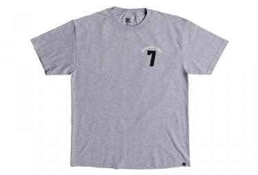 T shirt dc shoes lucky seven gris m