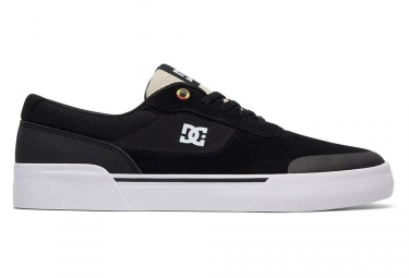 Chaussures dc shoes switch plus s noir blanc 39