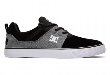 Chaussures dc shoes heathrow vulc se noir gris 43
