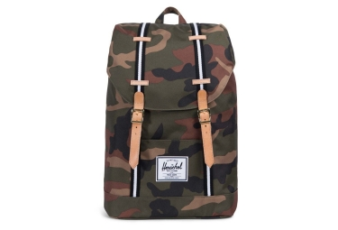 Herschel Retreat Rucksack 19.5L Woodland Kaki