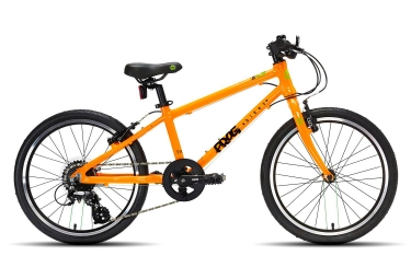 Vtt enfant frog bikes 55 20 8 vitesses orange